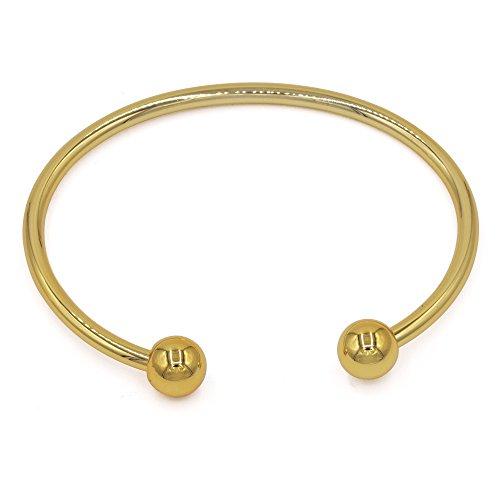 JFUME Bangle Bracelet Plated Invisible