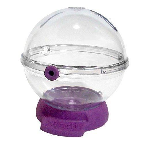 YARNIT Premier Yarn Bowl Crystal Clear Grape Base by YARNIT