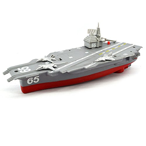 HKJC Children Bathing Water Toys Bathtub Electric Ship aircraft carrier with a toy boat