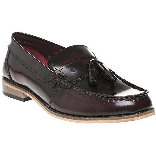 Bordeaux Chaussures Homme Lambretta Tassle Loafer xAfn8T