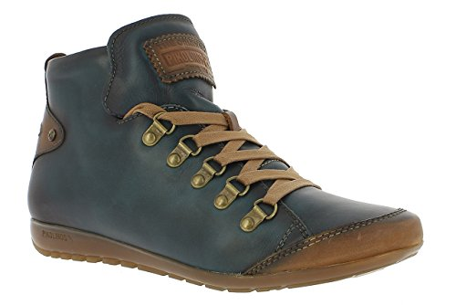 7557 mujer altos Lisboa Pikolinos para Zapatos Azul 767 OYF8ggqE