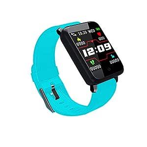 Reloj Inteligente Smart Watch Rastreador de Ritmo cardíaco Presión Arterial Reloj IP67