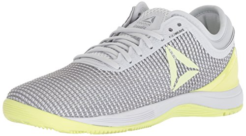 Reebok Women's CROSSFIT Nano 8.0 Flexweave Cross Trainer, Spirit White/Cool Shadow, 7 M US