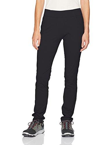 Columbia Women's Anytime Casual Pull On Pant, Black, Medium x Regular
