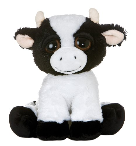 Aurora World Dreamy Eyes Plush Maybelle Cow 10""