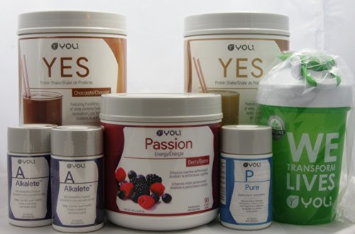 Yoli Better Body System - 30 Day Transformation Kit Weight Loss System - Passion Berry [CANADA]