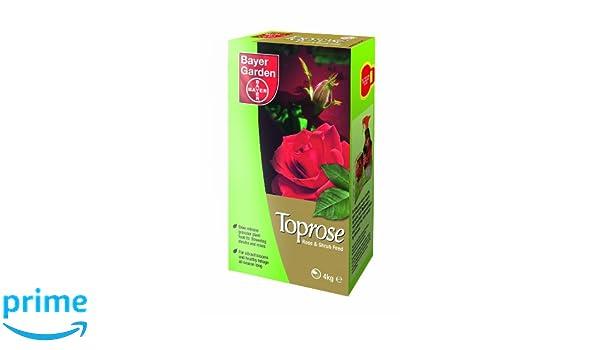 Bayer Garden Toprose - Abono granular para rosas, 4 kg: Amazon.es: Jardín