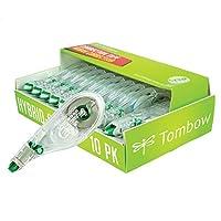 American Tombow 68721 Tombow Mono cinta de corrección híbrida, paquete de 10