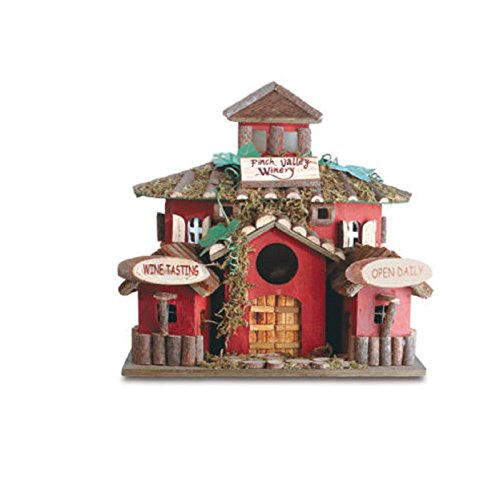 Hot Sale! Finch Valley Winery Wine Birdhouse Bird House (Spy Valley Wines)