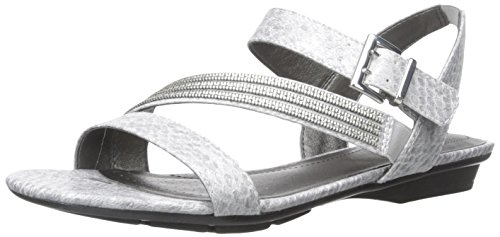 cheap latest collections LifeStride Women's Enchant Flat Sandal Pewter sale low price fee shipping buy cheap pick a best zZNW9