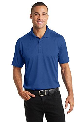 Diamond Polo Jacquard - Port Authority K569 Men's Diamond Jacquard Polo True Blue 2XL