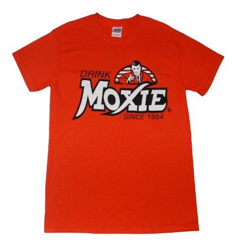 EastCoPr Men's Moxie Wicked Good Cotton T-Shirt Orange XX-Large