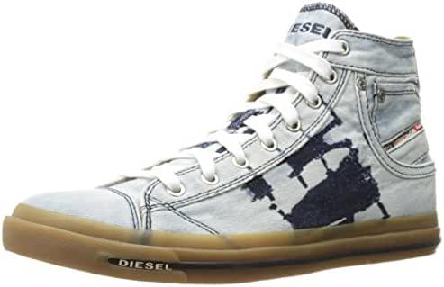 Diesel Men's Magnete Exposure I Fashion Sneaker, Indigo, 9.5 M US
