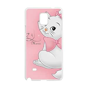 Aristocats Samsung Galaxy Note 4 Cell Phone Case White 218y-100088