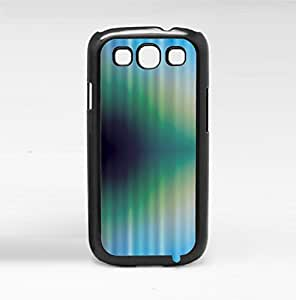 Blue, Green, and Dark Blue Wave Hard Snap on Phone Case (Galaxy s3 III)