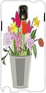 Snoogg Ilustración Abstracta De Primavera Con Una Gran Cantidad De Cubierta D...