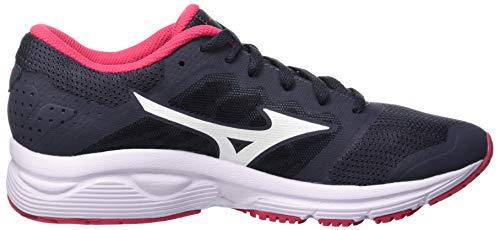 Azalea White Femme Ezrun Sneakers Multicolore 001 LX Basses Ombreblue Mizuno 08Faqw