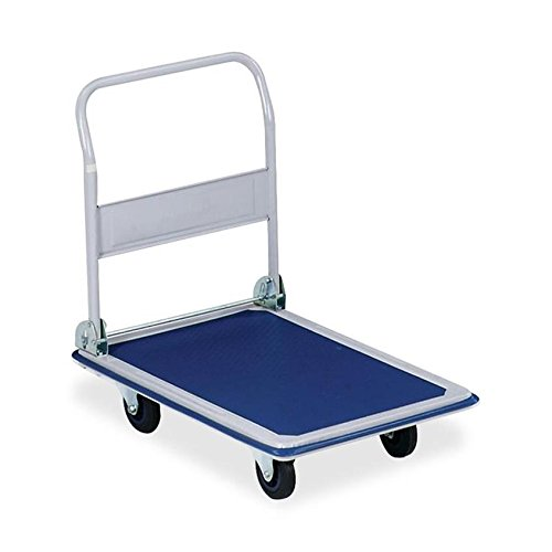 Sparco Folding Platform Truck, 660 lbs., 24-3/4 x 36 x 29-1/2 Inches, Blue (SPR02040) S.P. Richards Company