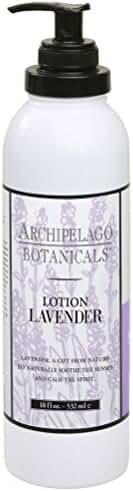 Archipelago Lotion, Lavender, 18 oz.