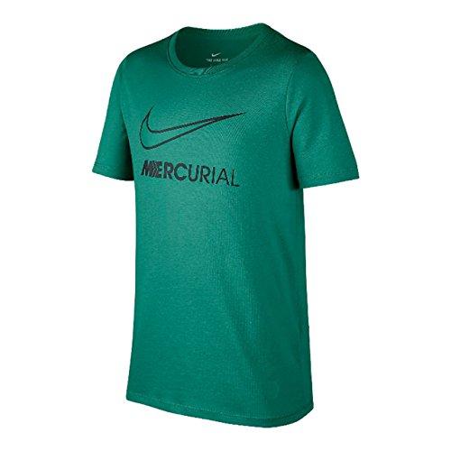 制限腐敗顔料ナイキ(NIKE) ジュニア RONALDO Y BOOT S/S Tシャツ 913904 348 キネティックグリーン 140