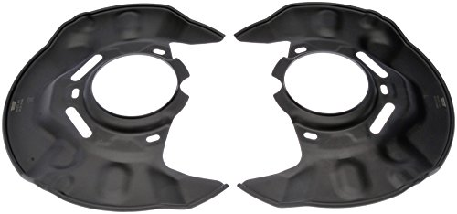 Brake Dust Shields Parts - Dorman 924-372 Brake Dust Shield, Pair