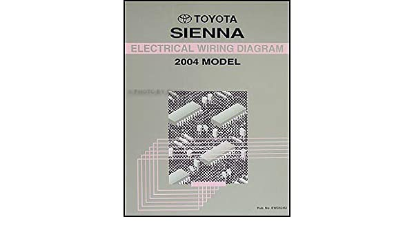 2004 toyota sienna wiring diagram manual original: toyota: amazon com: books