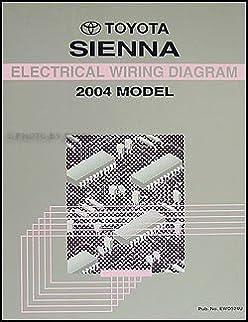 2004 toyota sienna wiring diagram manual original toyota amazon rh amazon com  2004 sienna length