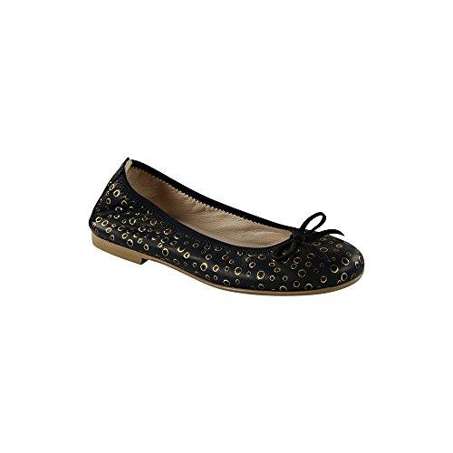 Sonatina Pampered Girls Black Ballet Flats Shoe Size 32 by Sonatina