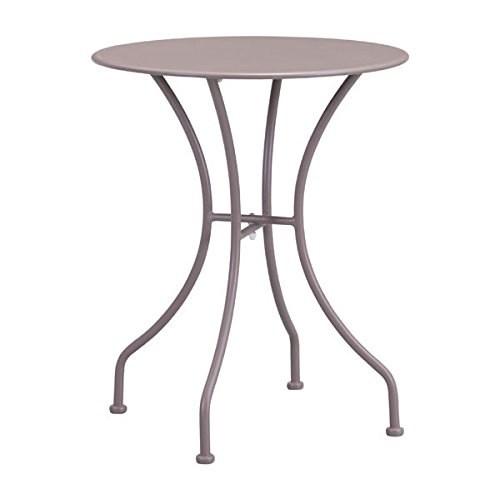Zuo Oz Dining Round Table, Taupe