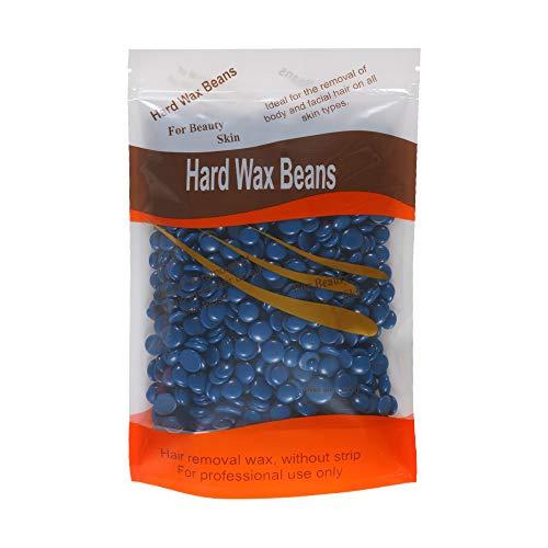 Bluezoo Chamomile Depilatory Pearl Hard Wax Beans / Brazilian Granules Hot Film Wax Bead For Hair Removal(stripless) ()