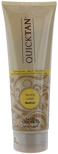 Body Drench Quick Tan Gradual Tanning Lotion, Medium, 8 Ounc
