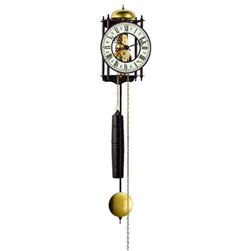 Qwirly German Mechanical 8-day Chain-Driven Movement Wall Clock, Model 70974000711 RAVENSBURG by Hermle -  B07FDM6K5D