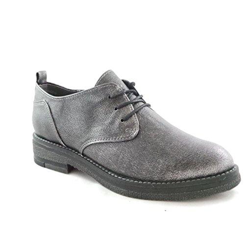 lacets ville femme gris gris de Marco à pour Tozzi Chaussures w0yUtX