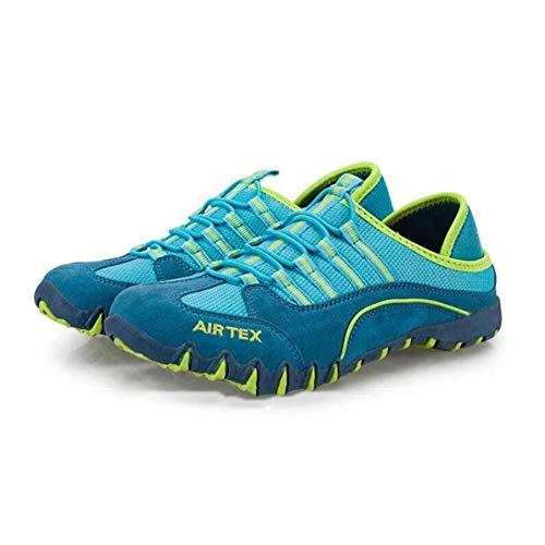 Ligeros UK4 de para CN36 Transpirables Zapatos de Deportivos Color Zapatos Sky Libre Blue Caminar para Zapatos Senderismo Size Ocasionales EU36 Zapatos Aire al Damas FH Malla wq58STT