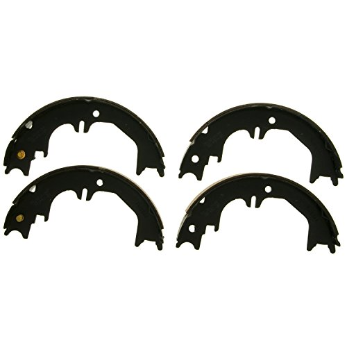 Wagner Z844 Parking Brake Shoe Set, Rear
