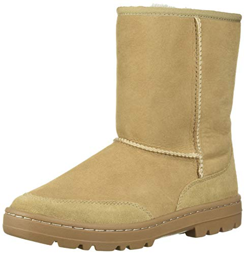 UGG Women's W Ultra Short Revival Fashion Boot, Sand, 8 M US (Womens Ultra Tall Sand)