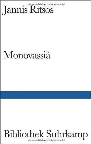 Monovassiá Gedichte Griechisch Und Deutsch Amazonde