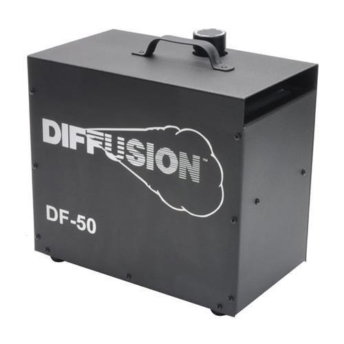 Reel EFX DF-50 DMX Diffusion Hazer, Atmospheric Fog Machine for Special Effects.