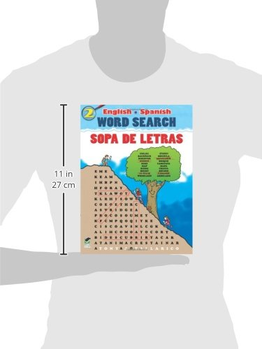 English-Spanish Word Search/Sopa de Letras #2 (Dover Childrens Language Activity Books): Tony J. Tallarico Jr.: 9780486480985: Amazon.com: Books