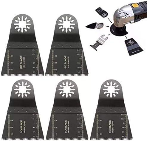 WXQ-XQ スクロールソーブレードクリニーク振動マルチツールの65ミリメートル高炭素鋼E-カットロング歯ソーブレードマルチツールブレードセット