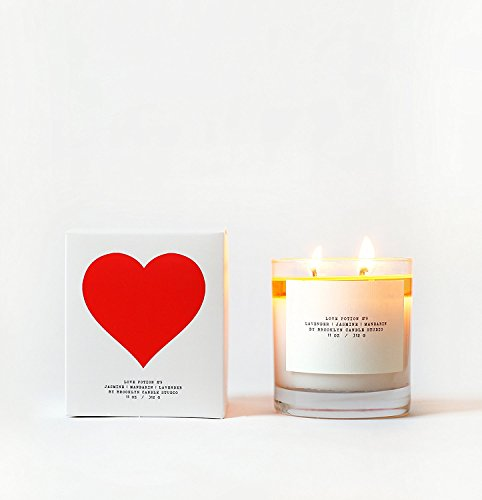 Love Potion #9 Luxury Scented Candle with Lavender, Mandarin, and Jasmine