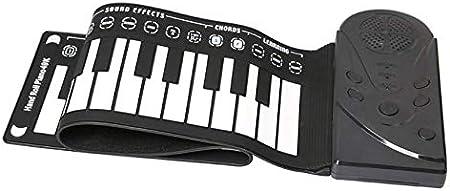Piano plegable a mano, Bocina de 49 teclas con piano manual ...