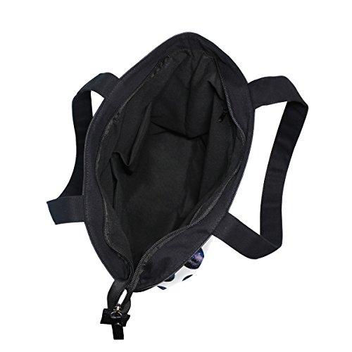 Shoulder Bag Womens Galaxy Handbag Watercolor Canvas MyDaily Tote Dot qTtng1x4x