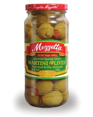 Dry Extra Dry Vermouth - Mezzetta Olive Martini