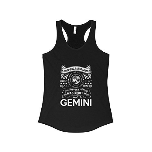 Doryti Gemini Perfect Birthday Gift Funny Women's Tank - top tee