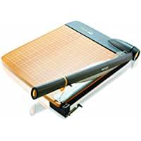 Westcott 18 TrimAir Guillotine Trimmer, Wood Base