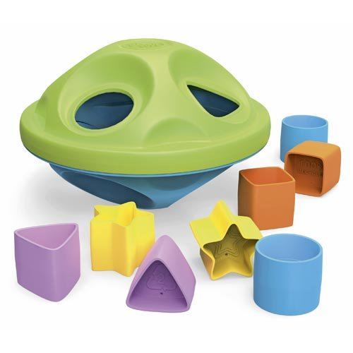 [Green Toys Shape Sorter, Green/Blue] (Recycled Material Costume)