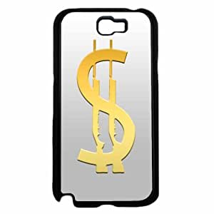 Cash Gun- TPU RUBBER SILICONE Phone Case Back Cover Samsung Galaxy Note II 2 N7100