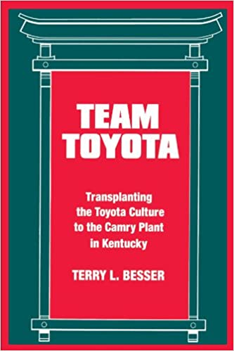 Team Toyota: Transplanting The Toyota Culture To The Camry Plant In  Kentucky (SUNY Series In The Sociology Of Work And Organizations): Terry L.  Besser: ...