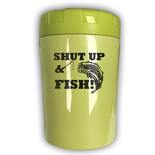 SHUT UP & FISH2 Thermos Cup,Travel Insulation,Kettle Stew Pot,Outdoor Tableware,Stew Mug Burning Bottle,Vacuum Insulated Food Jar (Couples Boob Costumes)
